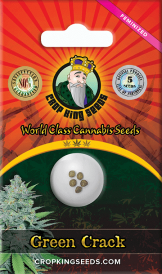 Green Crack Feminized Marijuana Seeds